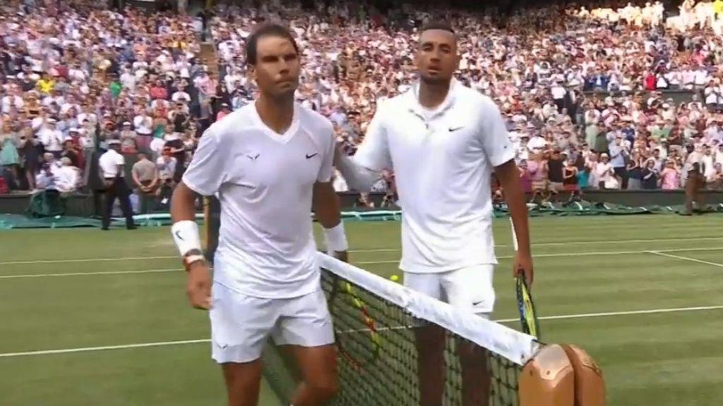 Wimbledon 2019: Rafael Nadal beats Nick Kyrgios in entertaining clash