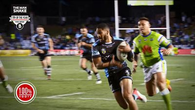 MUST WATCH: Man Shake try of the Year NRL Round 19