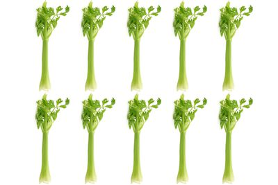 10 long celery stalks are 100 calories