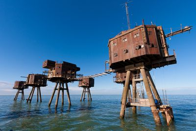 <strong>The Maunsell Army Sea Forts, England</strong>