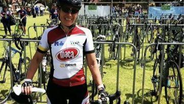 Melbourne cyclist Chantelle Pritchard.