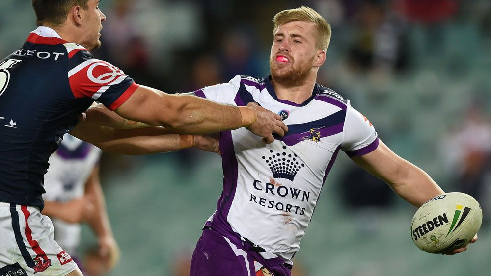 Robinson questions effort in Storm loss