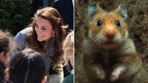 Princess Kate reveals Charlotte and George have a royal hamster named Marvin