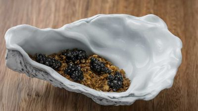Quay's oyster dish