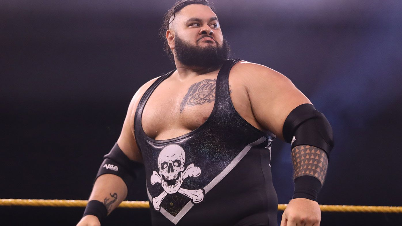 EXCLUSIVE: Australian WWE star Bronson Reed on tough journey, being trained by legend Shawn Michaels