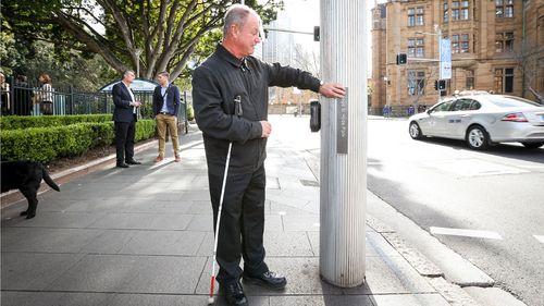Sydney boosts signage for vision-impaired pedestrians