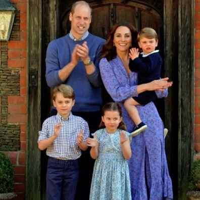 Duke and Duchess of Cambridge, Prince George, Princess Charlotte, Prince Louis