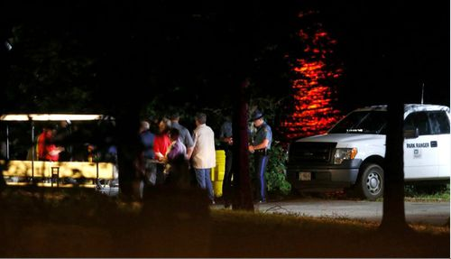 Emergency services worked throughout the night to search for survivors. Image: AAP