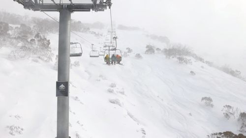 There is snow forecast for this weekend, including at Thredbo.