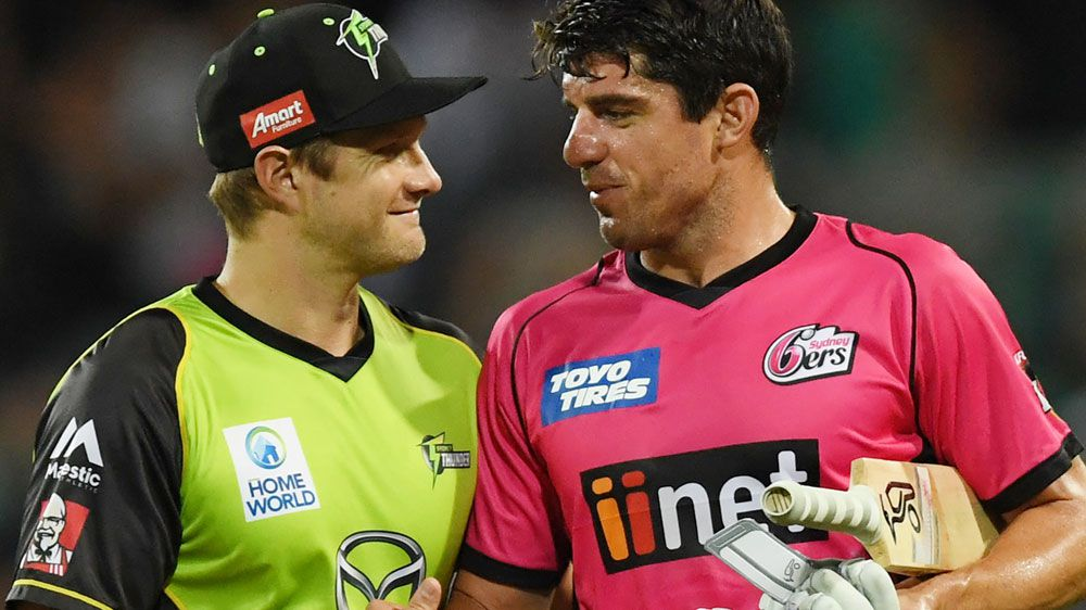BBL: Sydney Sixers get first win of the season against Thunder
