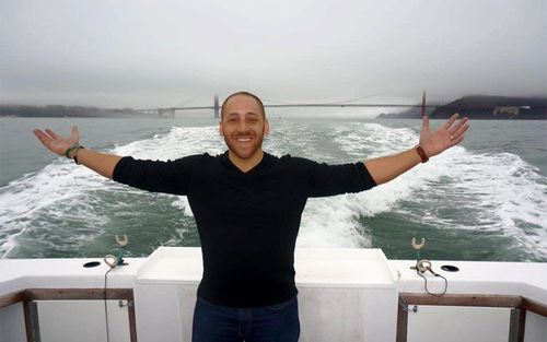 Kevin Hines has since met the coastguard and emergency room staff who helped rescue him after he jumped from the Golden Gate Bridge in 2000 (kevinhinesstory.com)