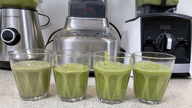 Who came out on top in the green smoothie blitz test
