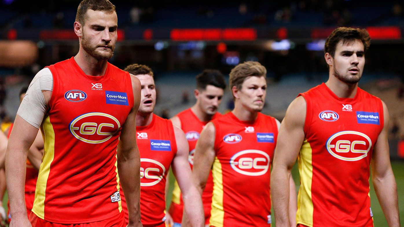 Gold Coast chief executive Mark Evans threatens to 'smash' player agents in court over alleged Suns boycott