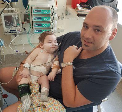 Elias looks after the older children when Emmanuel is in hospital.