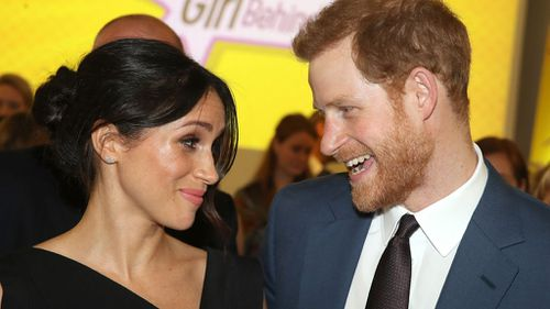 Meghan and Prince Harry are getting married on Saturday. (PA/AAP)