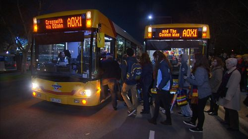 The SA government is set to cut its financial support to free public transport services to football games.