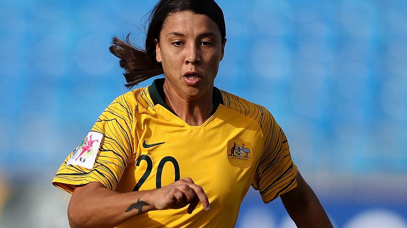 Kerr strike sends Matildas into World Cup