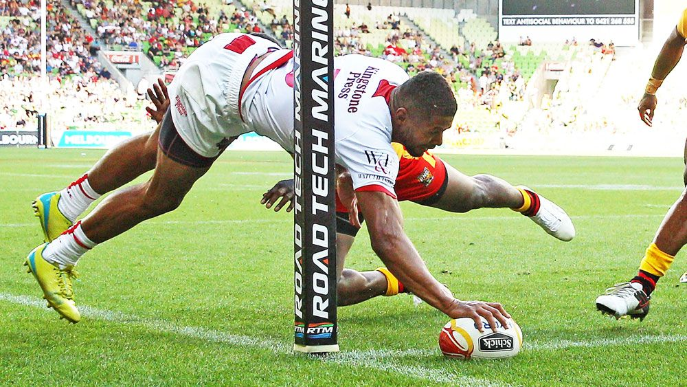 England into Rugby League World Cup semi-finals with win over PNG