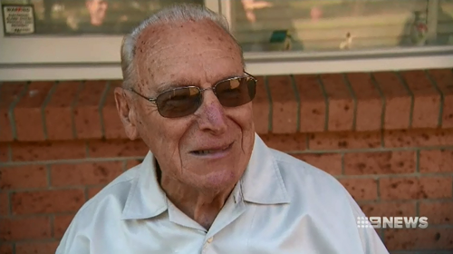 A great-grandfather who was subject to a frightening home invasion in Sydney's north west last night says he bears no ill will towards the thieves.
