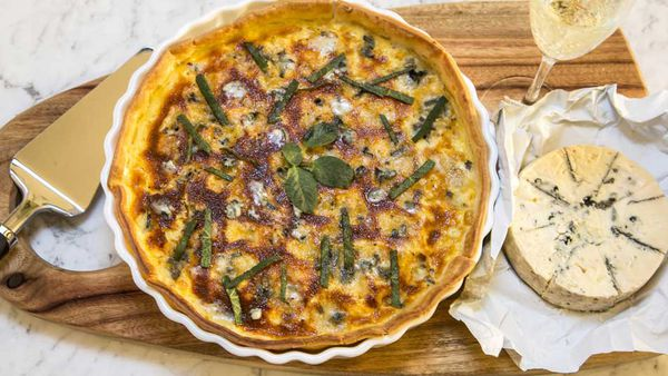 "Recipe: <a href=""http://kitchen.nine.com.au/2017/08/18/10/43/pumpkin-tart-with-gorgonzola"" target=""_top"">Pumpkin Gorgonzola tart</a>"