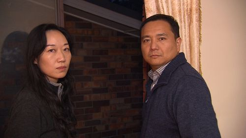 Neil Huang and Nicole Li say they have been battling for two years with their neighbour over the noisy unit that sits between their Carlingford homes.