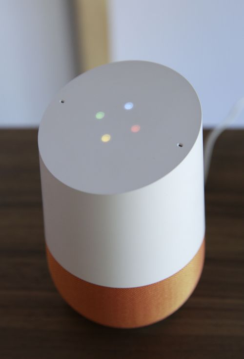 The Echo's competitor, the Google Home, was launched in August last year and is priced at $199 (AAP).