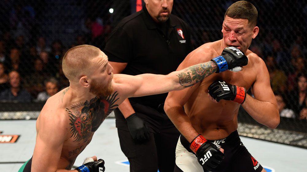 McGregor beats Diaz in UFC 202 bloodbath