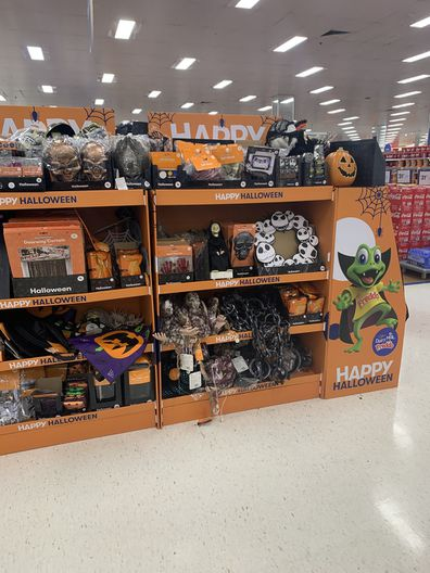 Halloween stock in Big W Rouse