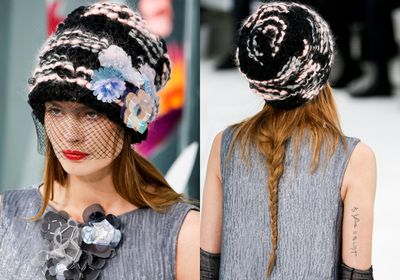 """<p>Beanies aren't just for disguising bad hair days. Take a lesson from the Chanel Haute Couture 2015 show and let them be the star attraction. Hairstylist Sam McKnight created an """"undone, almost unravelled braid"""" that was secured loosely with a hat, veil or beanie. Here, we've rounded up 12 of the best to elevate your look.</p>"""
