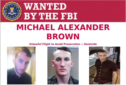 The 18-day manhunt spanned three states and involved multiple federal, state, and local law enforcement agencies. Brown had been added to the FBI's most wanted list on Monday.