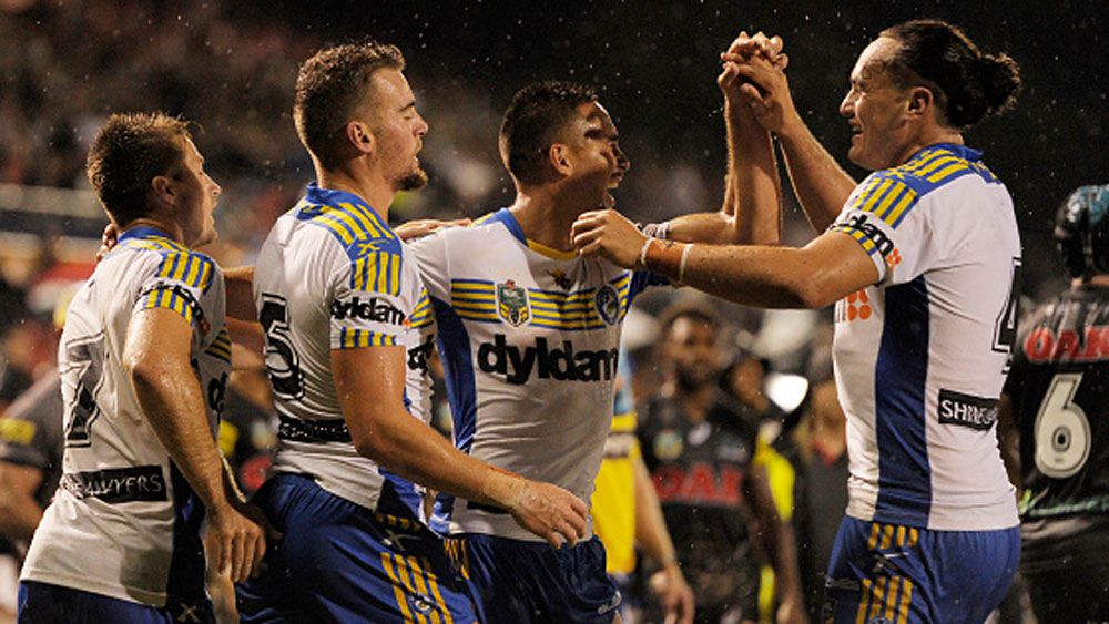 The Eels will start the season without any points reduction. (Getty)