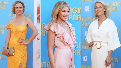 Stars come out for Swinging Safari Sydney premiere