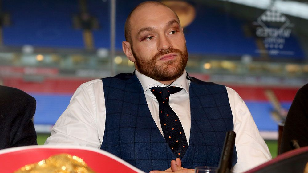 Tyson Fury faces an uncertain future. (AAP)