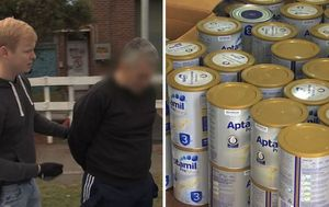 Sydney man and woman arrested over alleged theft and resale of baby formula