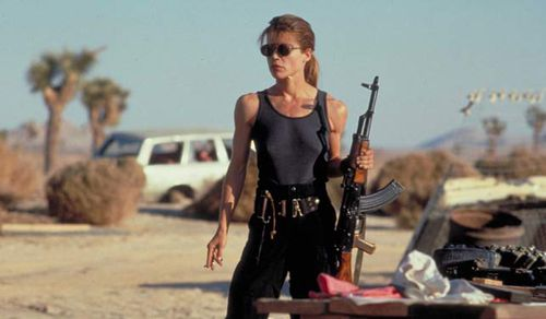 Sarah Conner (played by - the militant mother of the human resistance in the Terminator franchise. (TriStar Pictures)