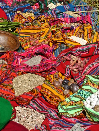 1. Oven tapestries and rugs in Peru