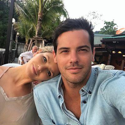 Megan Marx and Jake Ellis