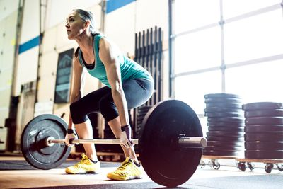 Move more — especially resistance training