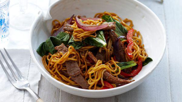 Five spice pork noodles for $10