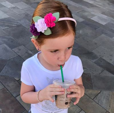 <strong>1. Pixie Curtis</strong> is the darling daughter of Roxy Jacenko and this five year old has her own hair bow business and 111,000 followers on Instagram.