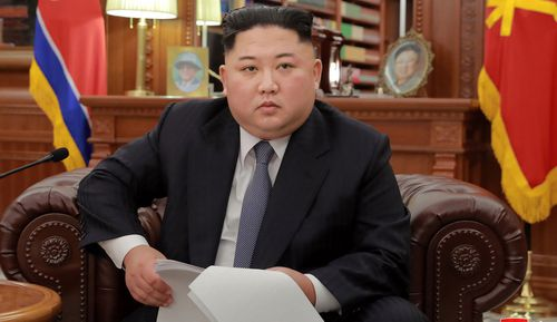 In a New Year's message, Kim hinted at a possible cap on nuclear weapons production if the US took equivalent steps.