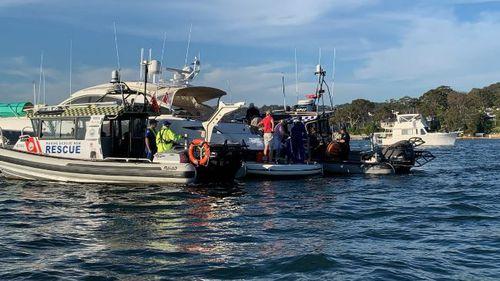 Woman injured in boat crash north of Sydney
