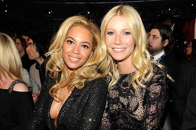 """One seems so cool and American while the other seems so stuffy and faux English, but Beyonc&#233; says of Gwyn: """"She is incredible, she's a great friend on every level."""" <br/><br/>The pair were introduced to each other by their husbands rapper Jay-Z and rocker Chris Martin - who are also unlikely BFFs!<br/><br/><a href=""""http://celebrities.ninemsn.com.au/antibullying"""">Want to win an iPad? Take our quiz!</a>"""