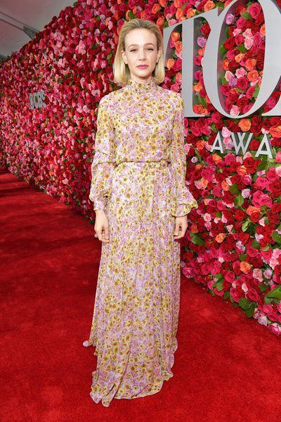 Actress Carey Mulligan in Giambattista Valli Paris