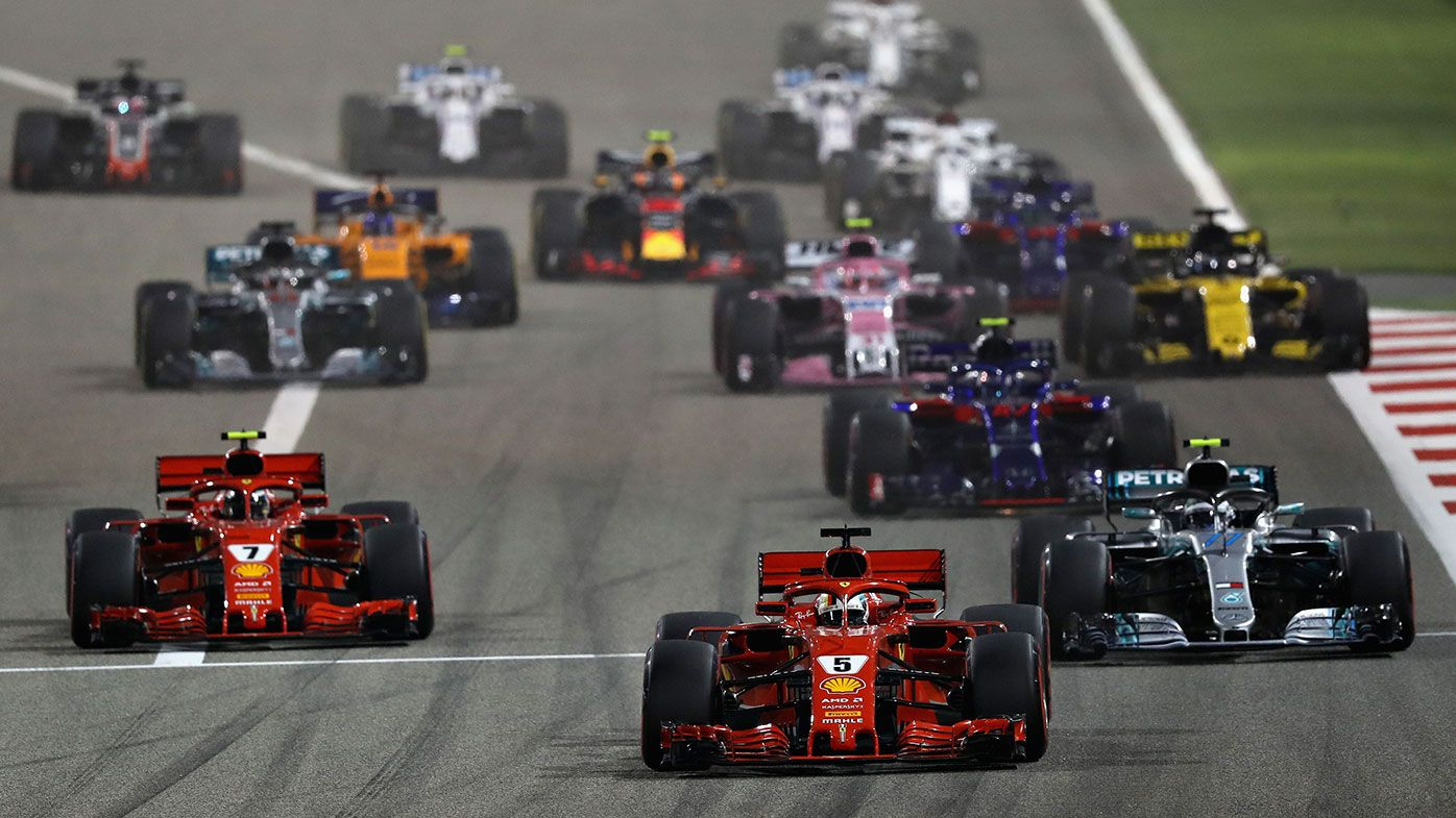 F1 accused of sending 'appalling message' by racing in Bahrain
