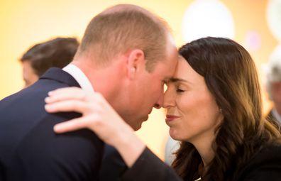 Morale boosting royal trips