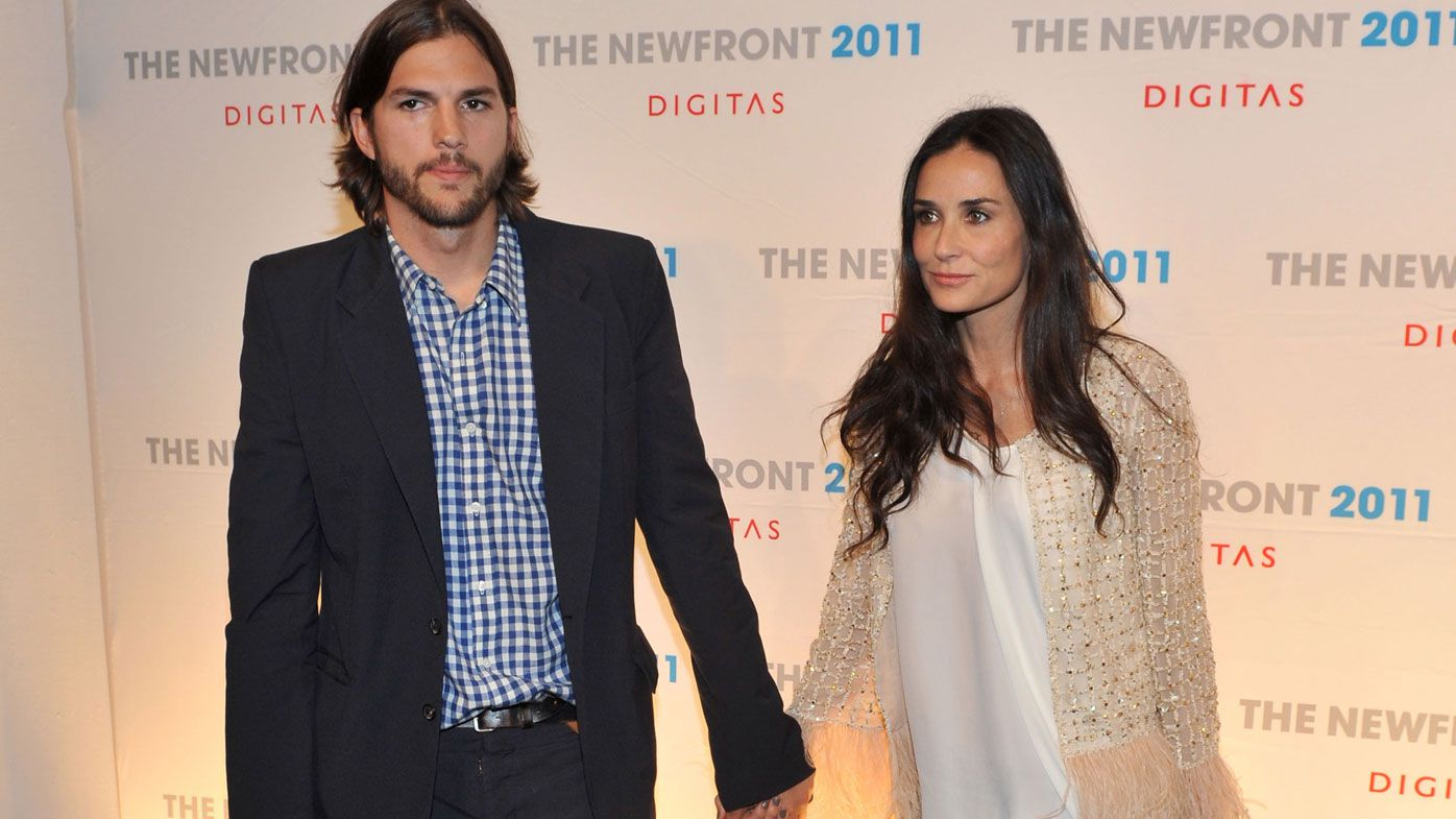 Ashton Kutcher retreated after divorce