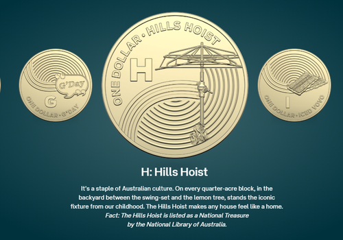 Australian icons are being immortalised in the form of a collectable coin set, produced in a partnership by The Royal Australian Mint and Australia Post