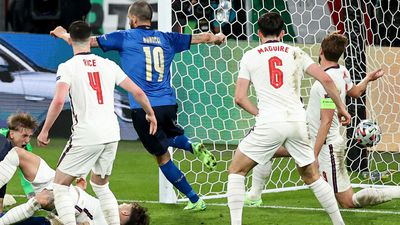 Bonucci slots home for Italy's equaliser