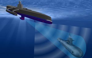 US Navy is developing unmanned drone boats for AI combat at sea